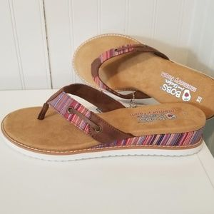 New size 10 Bobs by sketchers flip flops